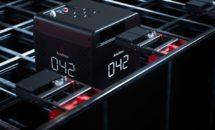 De B1 Robot wisselt zelf zijn batterij als dat nodig is.